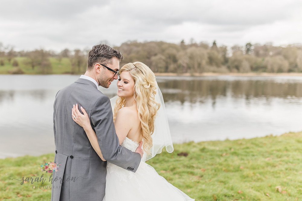 Combermere Abbey Cheshire Wedding Photography North Wing Lake