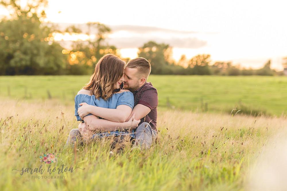 sunset crewe cheshire wedding photography