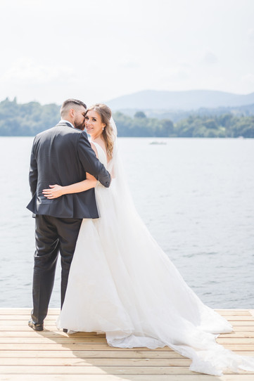 Lakeside Wedding Photography in Cheshire