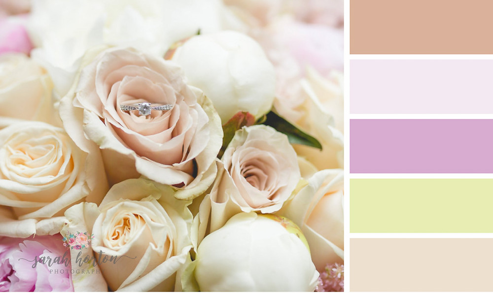 Sarah Horton Cheshire Wedding Photography Colour Palette Blush