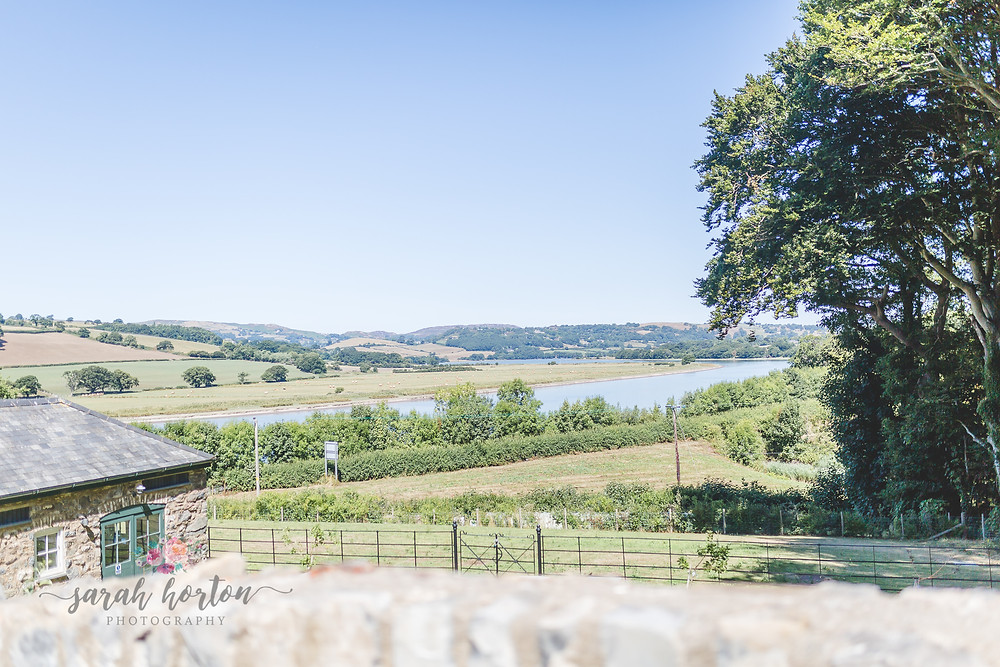 Views at Bodnant Welsh Foods Wedding Photography