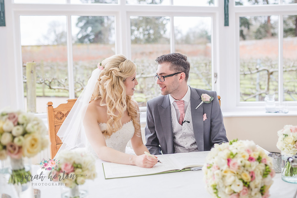 Combermere Abbey Cheshire Wedding Photography Glasshouse Ceremony