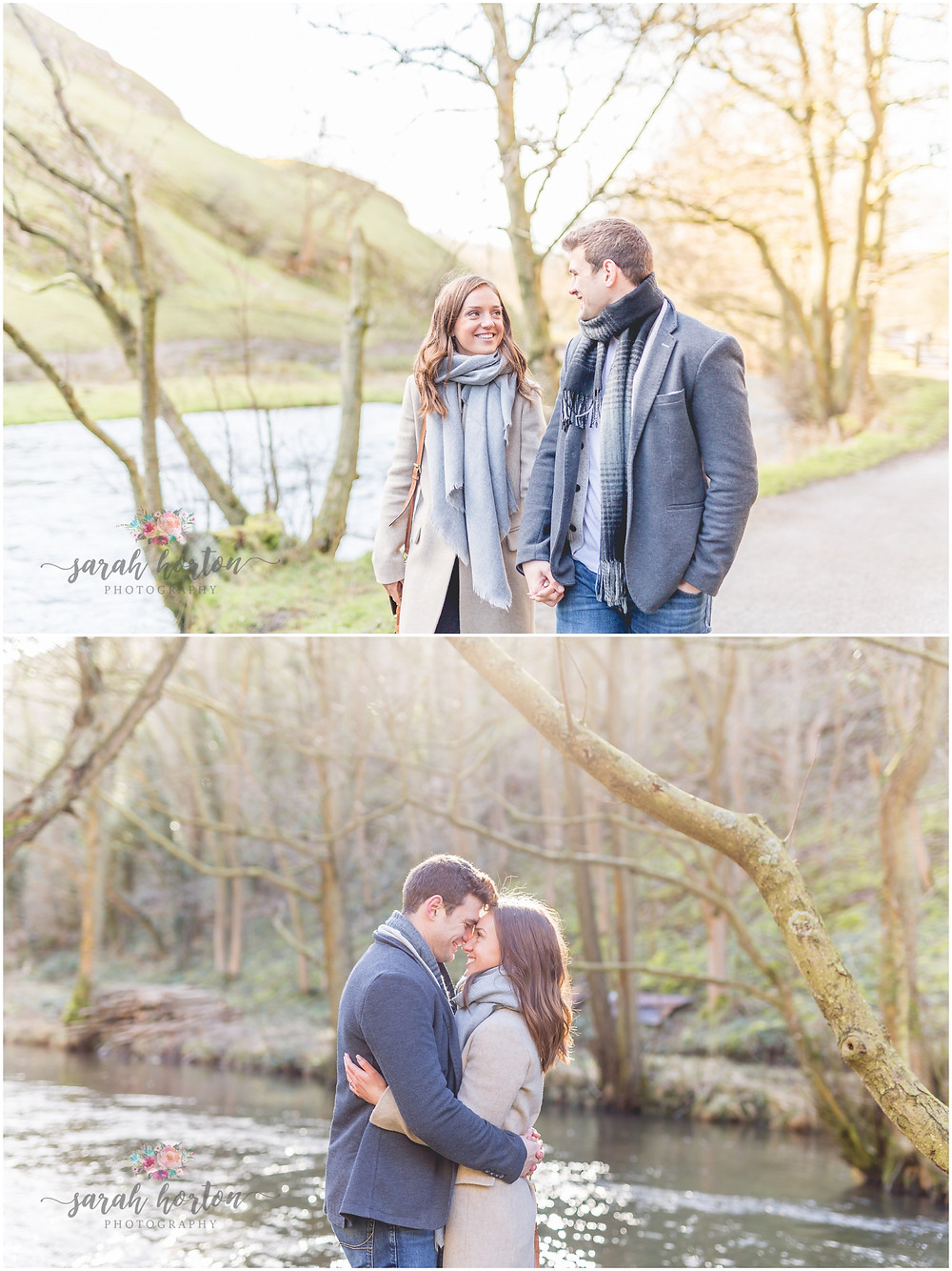 Cheshire Pre-Wedding Photography in the Peak District - Dovedale, Ashbourne