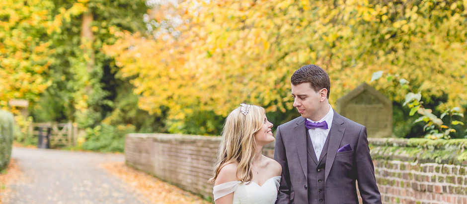 An intimate Cheshire village wedding in Great Budworth