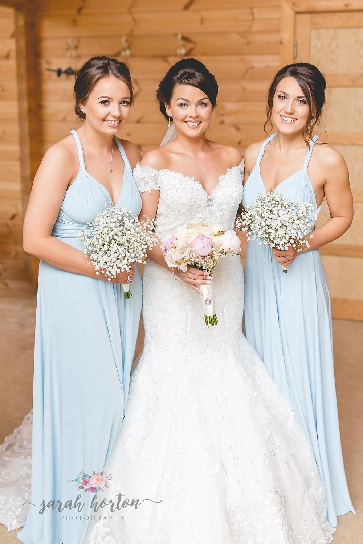 cheshire wedding photography at styal lodge bridesmaids