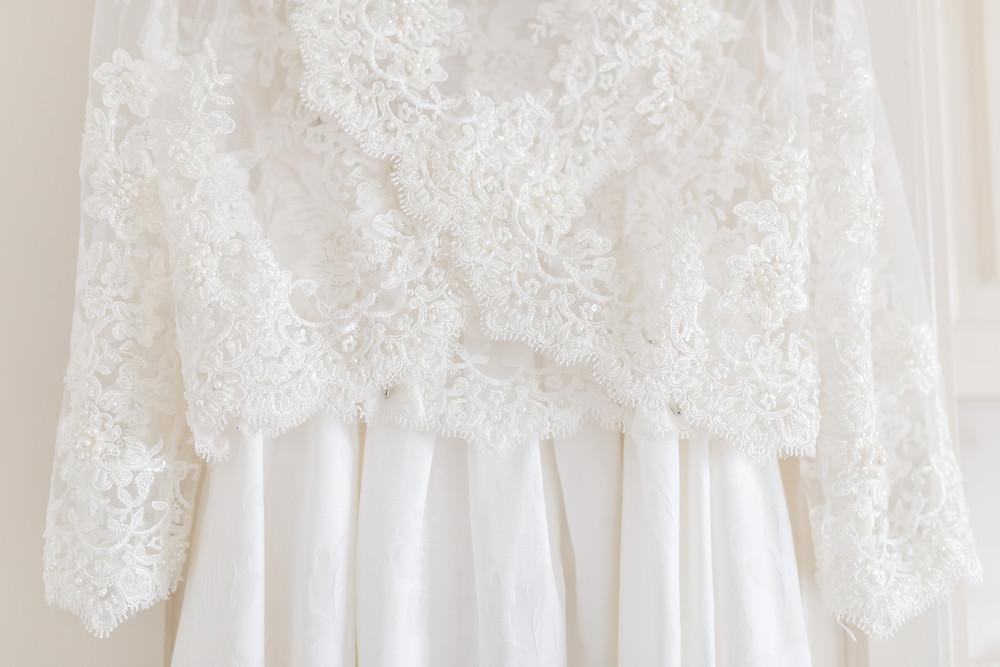 Mums Wedding Dress Made into Skirt - Cheshire Weddings Donate