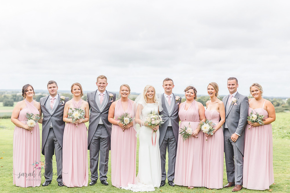Cheshire Wedding Photography Advice for Group Shots