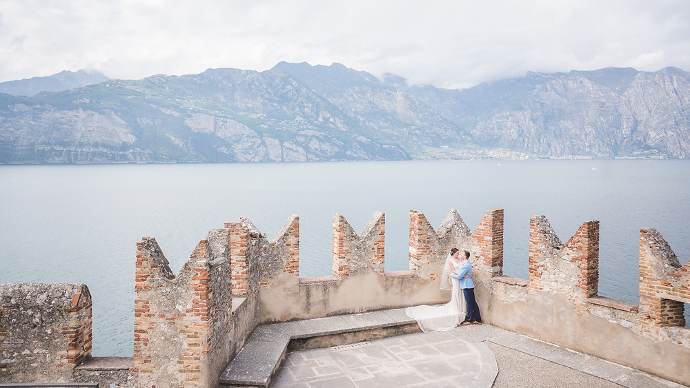 Malcesine Castle Wedding Photography