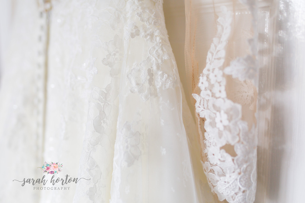 bridal gown ahead of chester wedding