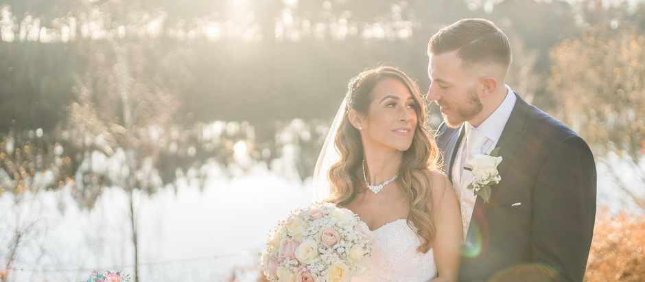 A sunny winter wedding at Nunsmere Hall, Cheshire