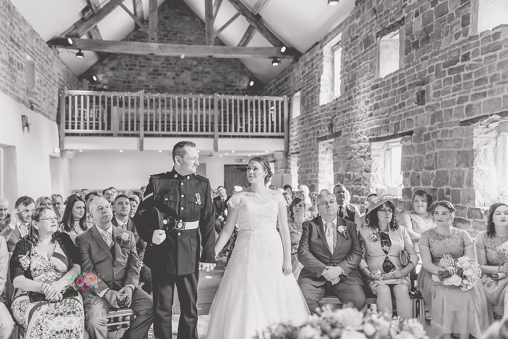 the ashes wedding photography cheshire civil ceremony