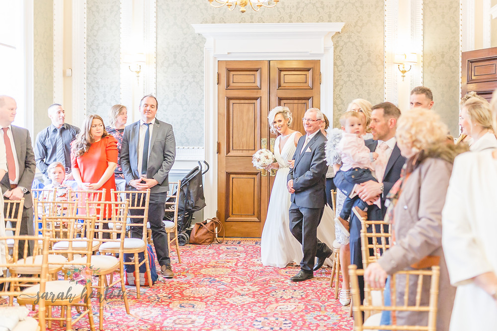 Small Cheshire Wedding Photography - Crewe Municipal Buildings