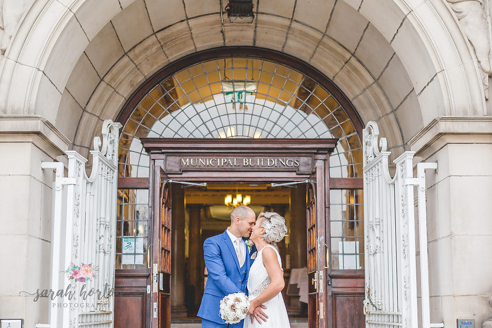 Elopement At Crewe Registry Office by Cheshire Wedding Photographer