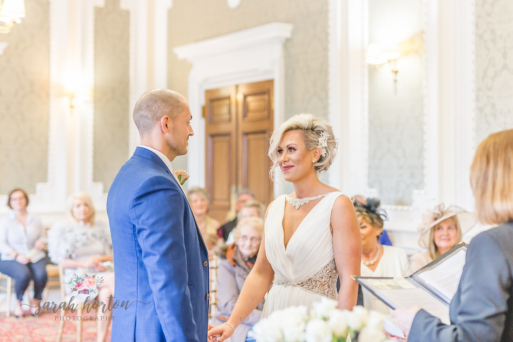 Small Cheshire Wedding Photography - Mayor's Reception Room