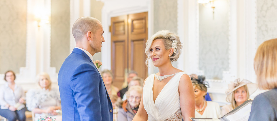 An intimate Cheshire wedding at Crewe Municipal Buildings