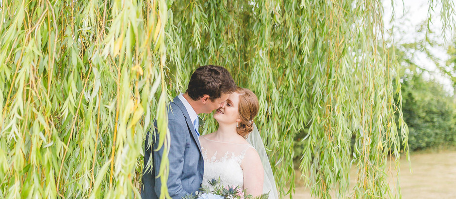A colourful Wrenbury Hall wedding with THAT bouquet!