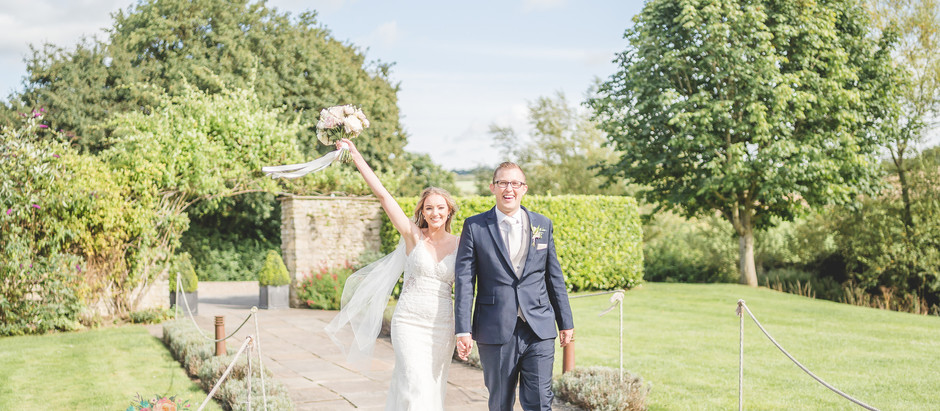 A romantic summer wedding at Priston Mill, Bath