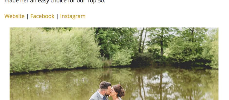 Top 50 UK Wedding Photographers 2018