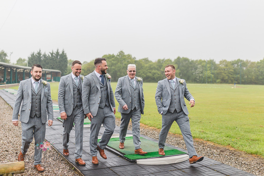 cheshire wedding photography at styal lodge groomsmen