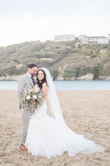 Cornwall Beach Wedding Photography -10.j