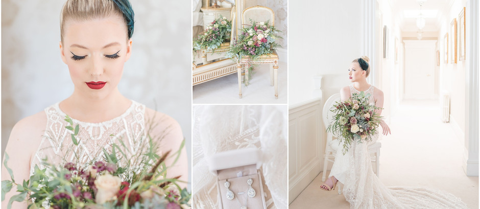 A dreamy Delamere Manor styled shoot