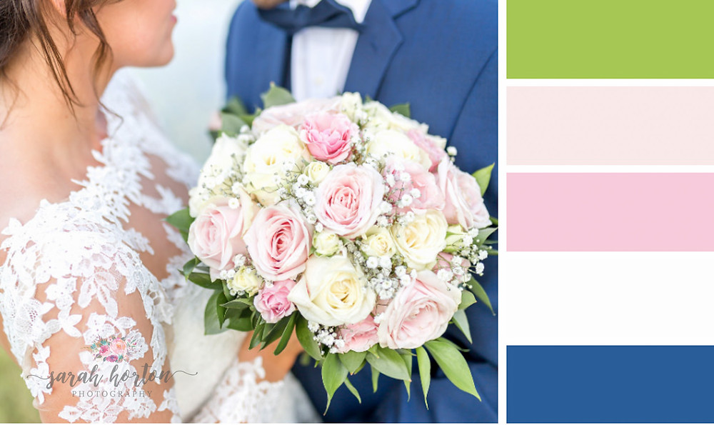 Delamere Events Cheshire Wedding Photography Colour Palette Pinks