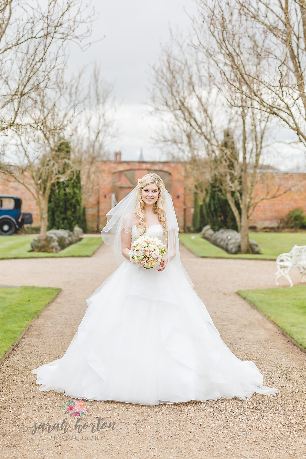 Combermere Abbey Cheshire Wedding Photography Walled Gardens Chyaz