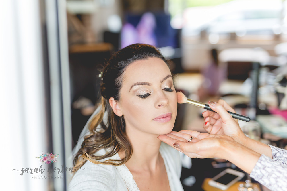 Bridal prep cheshire wedding photographer
