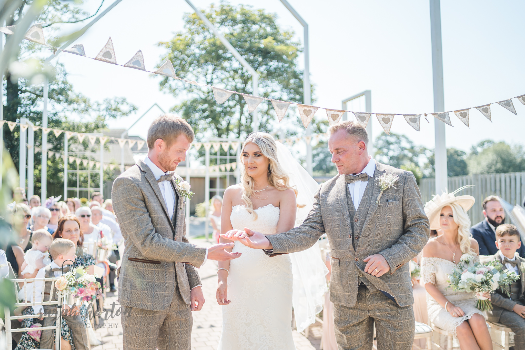 Alcumlow Barn Outdoor Wedding