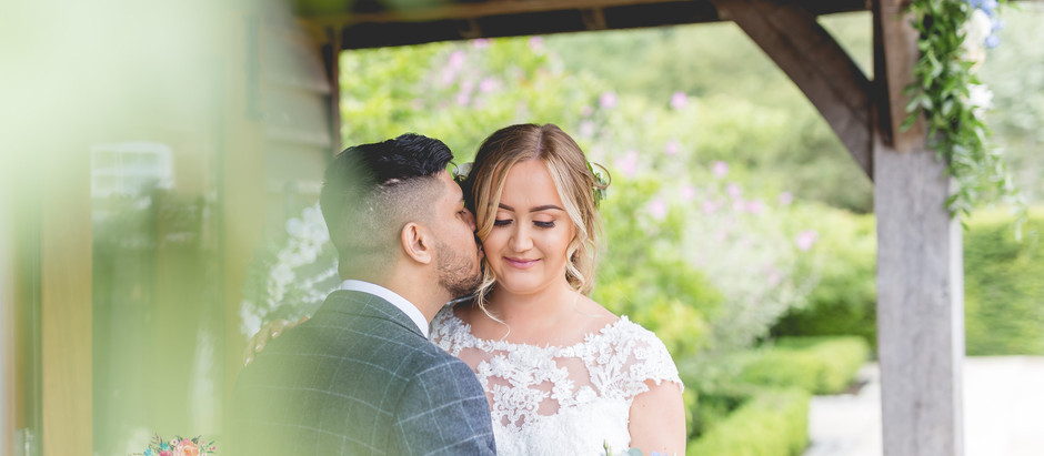 STEPH + RESH // SANDHOLE OAK BARN WEDDING