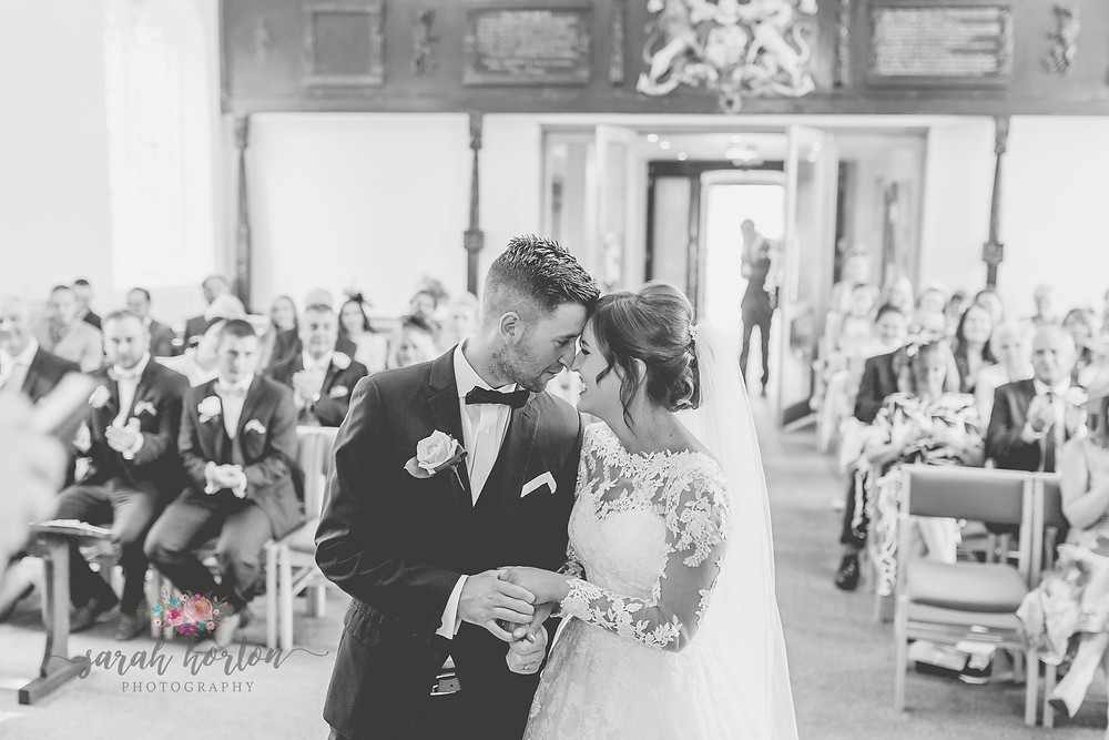 light airy wedding photography in chester church