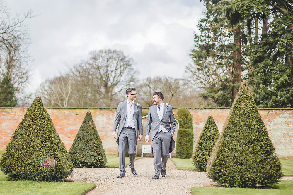 Combermere Abbey Cheshire Wedding Photography Groom