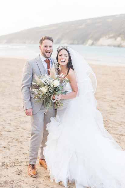 Cornwall Beach Wedding Photography -15.j