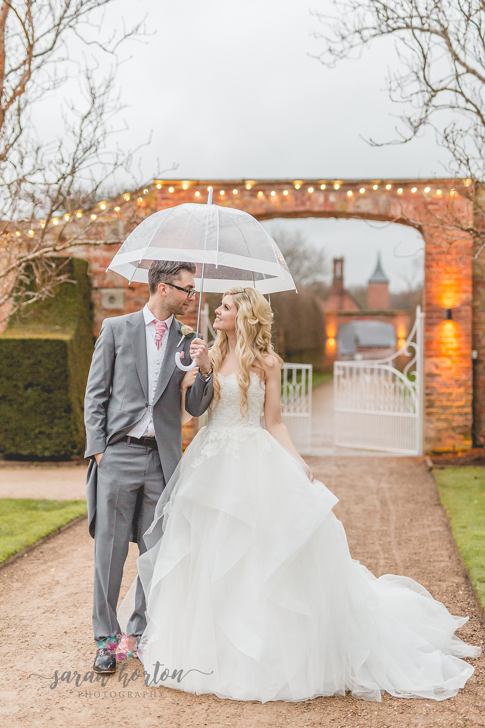 Combermere Abbey Cheshire Wedding Photographer Pavilion Walled Garden
