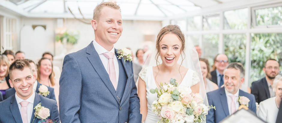 A romantic spring wedding at the Yellow Broom, Cheshire