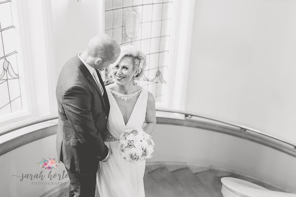 Elopement Cheshire Wedding Photography - Mayor's Reception Room Crewe Registry
