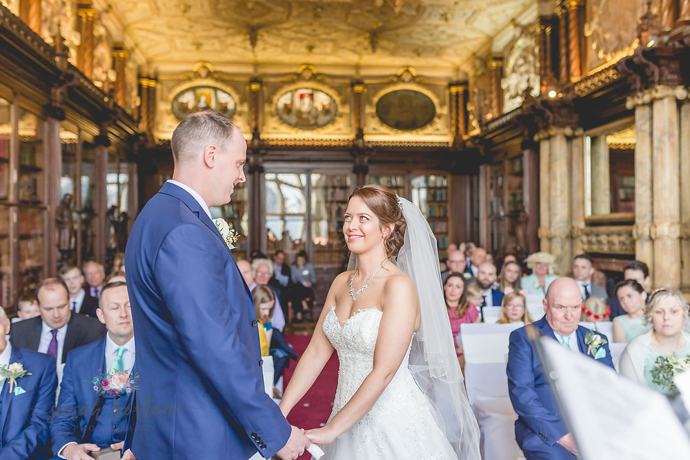 Crewe Hall Wedding Photography in Cheshire by Sarah Horton
