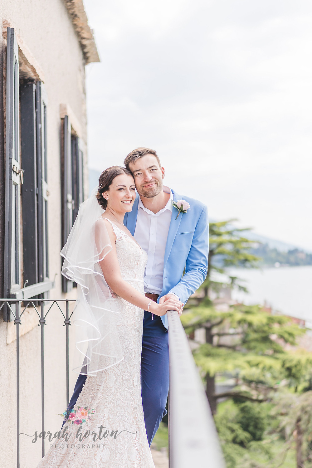 views from lake garda wedding