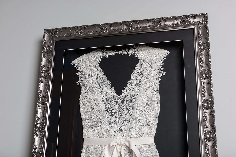 Framed Wedding Dress from The Beautiful Frame Company