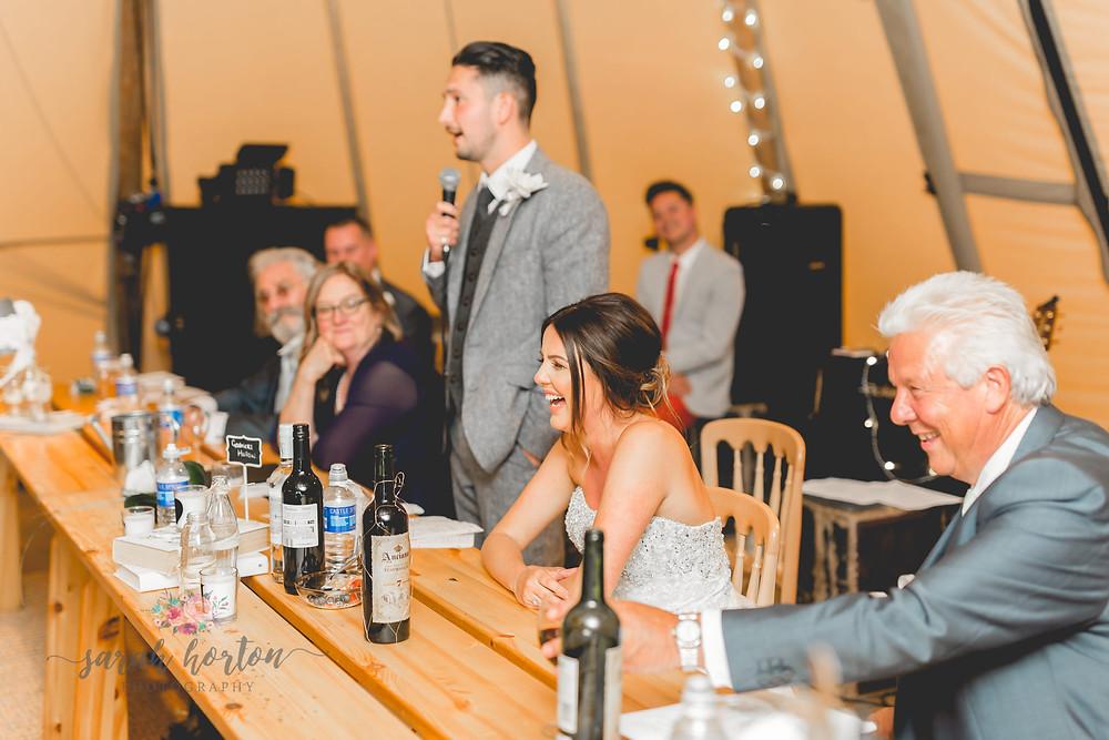 nantwich tipi cheshire wedding photography