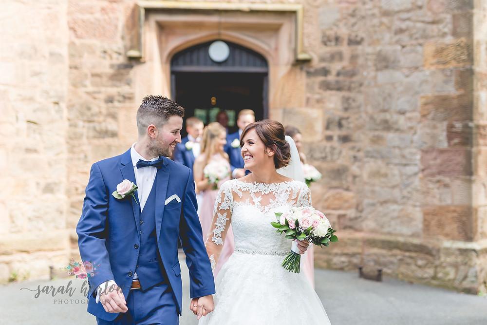 leaving chester church wedding
