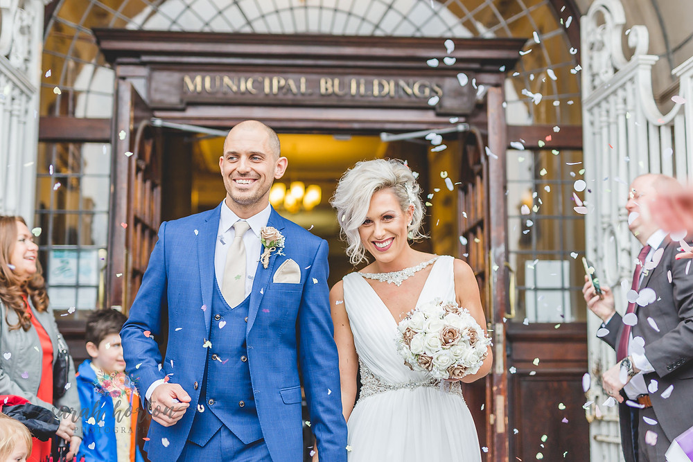 Small Wedding At Crewe Registry Office by Cheshire Wedding Photographer