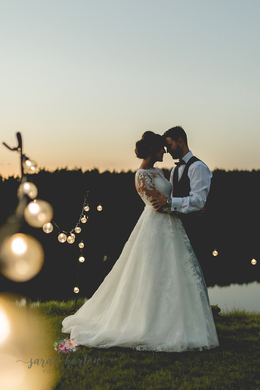 moonlit portraits at delamere events cheshire wedding photography