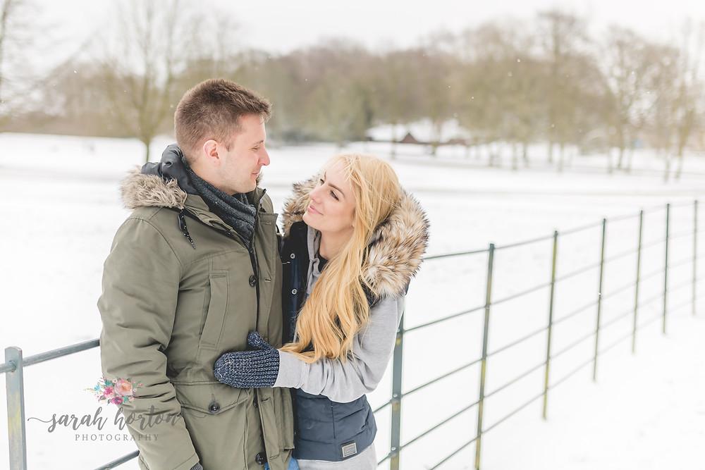 Engagement Shoot Heaton Park by Cheshire Wedding Photographer Sarah Horton