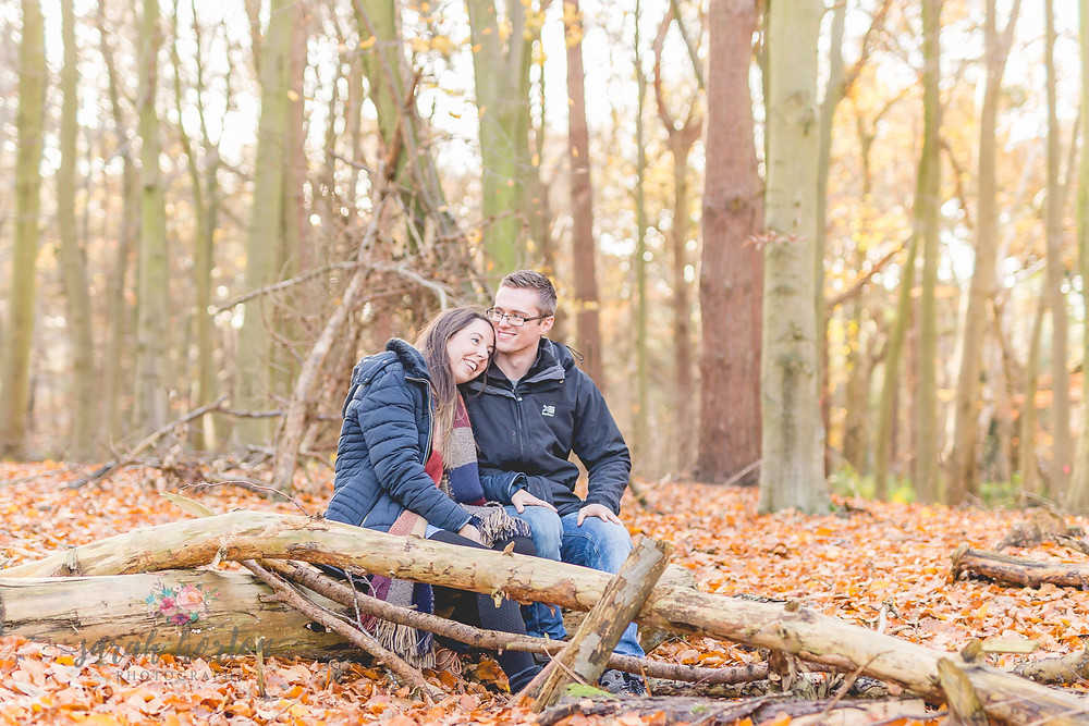 cheshire wedding photographer engagement delamere forest