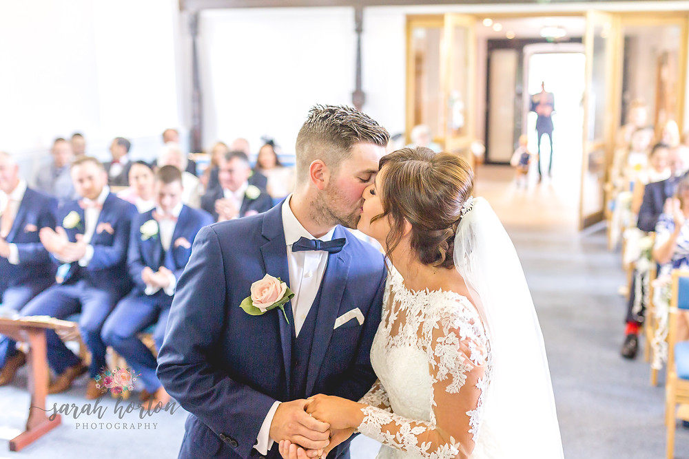 light airy wedding photography at chester church