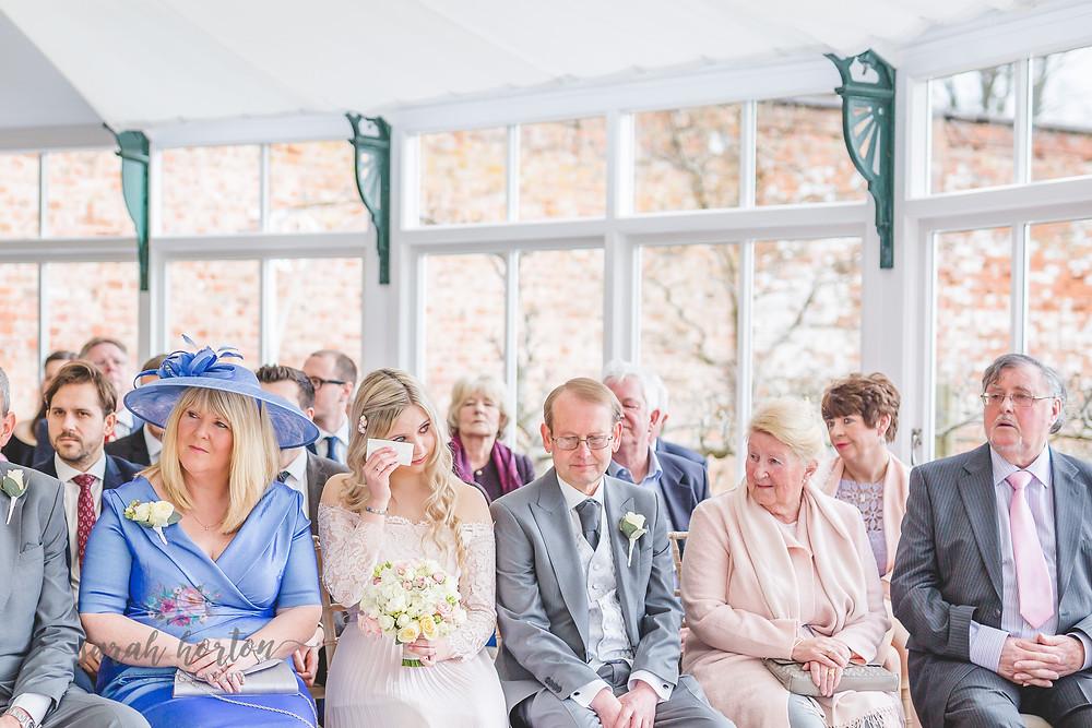 Combermere Abbey Cheshire Wedding Photographer Glasshouse Ceremony