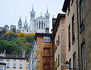 Quartier Saint-Jean - Basilique de Fourvière - Ville de Lyon