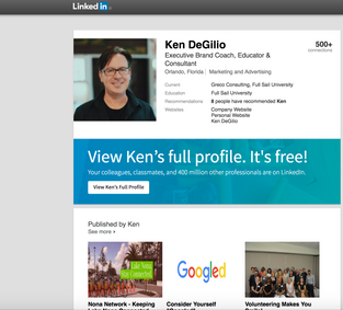 Building Your Brand on LinkedIn
