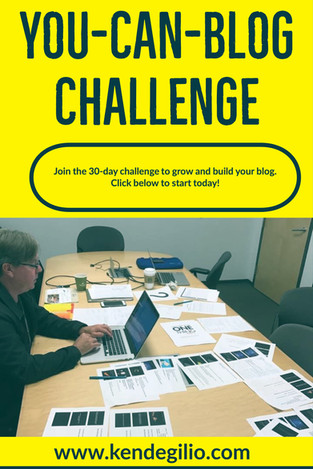 You-Can-Blog Challenge